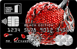 кредитная карта world mastercard black edition хоум кредит банка