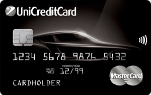 кредитная карта автокарта world mastercard black edition юникредит банка